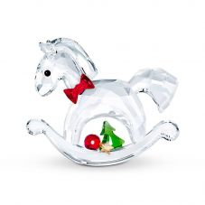 Swarovski Happy Holidays Rocking Horse Figurine 5544529
