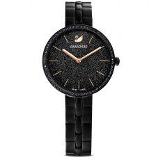 Swarovski Ladies Cosmopolitan Black Bracelet Watch 5547646