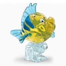 Swarovski The Little Mermaid Flounder Figurine 5552917