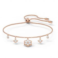 Swarovski Magic Rose Gold Tone Plated White Crystal Bracelet 5558186