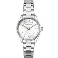 Accurist Ladies Silver Tone Bracelet Watch 8314