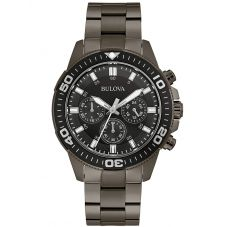 Bulova Mens Chronograph Bracelet Watch 98A249