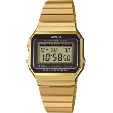 Casio Unisex Fashion Watch A700WEG-9AEF