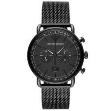 Emporio Armani Mens Aviator Chronograph Watch AR11264