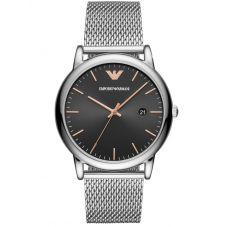 Emporio Armani Mens Luigi Mesh Strap Watch AR11272