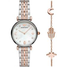 Emporio Armani Ladies Bracelet & Watch Set AR80037