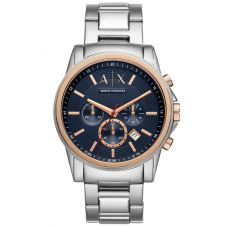Armani Exchange Mens Outer Banks Blue Dial Bracelet Watch AX2516