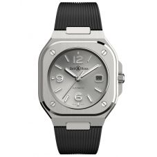 Bell & Ross Mens Automatic Strap Watch BR05A-GR-ST/SRB