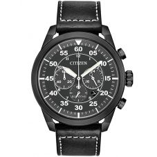 Citizen Mens Eco Drive Chronograph Watch CA4215-21H