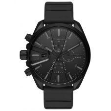 Diesel MS9 Black Rubber Strap Watch DZ4507