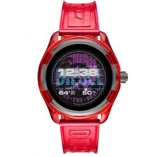 Diesel On Fadelite Red Transparent Smartwatch DZT2019