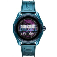 Diesel On Fadelite Blue Transparent Smartwatch DZT2020