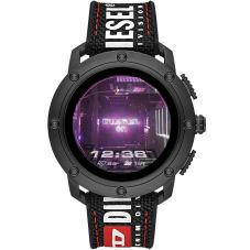 Diesel On Axial Black Nylon Smartwatch DZT2022