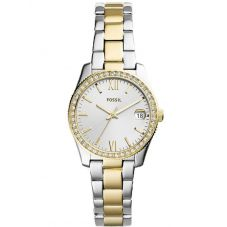 Fossil Ladies Scarlette Mini Two Tone Bracelet Watch ES4319