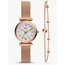 Fossil Ladies Carlie Jewelelry Set Watch ES4443SET