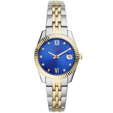 Fossil Ladies Scarlette 2 Tone Bracelet Watch ES4899