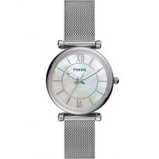 Fossil Ladies Carlie Mesh Bracelet Watch ES4919