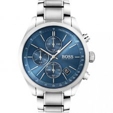 BOSS Mens Grand Prix Chronograph Bracelet Watch 1513478