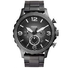 Fossil Mens Nate Chronograph Watch JR1437