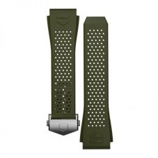 TAG Heuer Connected Khaki Rubber Watch Strap BT6232