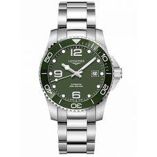 Longines Mens HydroConquest Automatic Watch L37814066