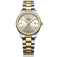 Rotary Ladies Oxford 2 Tone Bracelet Watch LB05093/03