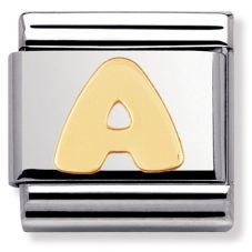 Nomination CLASSIC Gold Letters A Charm 030101/01