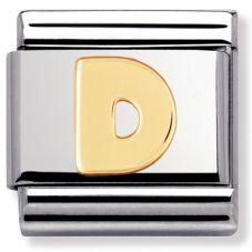 Nomination CLASSIC Gold Letters D Charm 030101/04