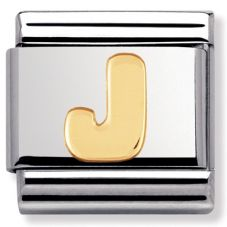Nomination CLASSIC Gold Letters J Charm 030101/10