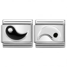 Nomination CLASSIC Silvershine Yin Yang Symbol Bundle