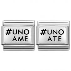 Nomination CLASSIC Silvershine #Uno Ame #Uno Ate Bundle