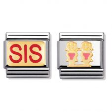 Nomination CLASSIC Gold Sweet Sister Charm Set