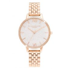 Olivia Burton Ladies Glitter Dial Watch OB16GD67