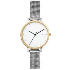 Skagen Ladies Hagen Two-Tone Mesh Bracelet Watch SKW2661
