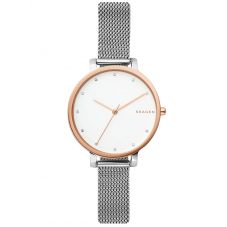 Skagen Hagen Two Tone Mesh Bracelet Watch SKW2662