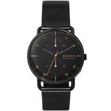 Skagen Horizont Black Mesh Bracelet Watch SKW6538