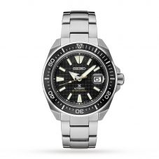 Seiko Mens King Samurai Bracelet Watch SRPE35K1