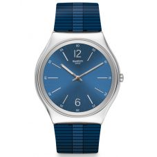 Swatch Bienne By Night Strap Watch SS07S111