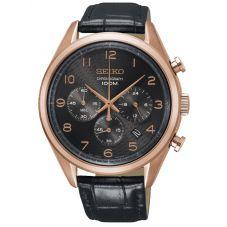 Seiko Mens Chronograph Strap Watch SSB296P1