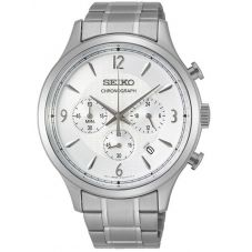 Seiko Mens Chronograph Watch SSB337P1