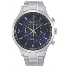 Seiko Mens Discover More Chronograph Bracelet Watch SSB339P1