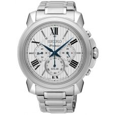 Seiko Mens Premier Chrono Watch SSC595P1