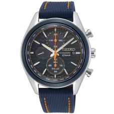 Seiko Mens Solar Chronograph Strap Watch SSC775P1