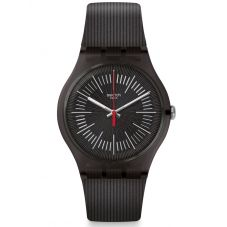 Swatch Mens Intercyderal Strap Watch SUOB178