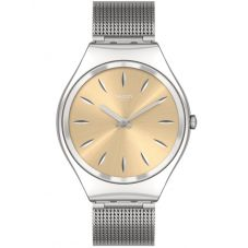 Swatch Ladies Skingoldenblink Watch SYXS133M