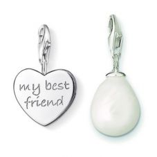 THOMAS SABO Silver Faithful Friend Charm Set TSBB006