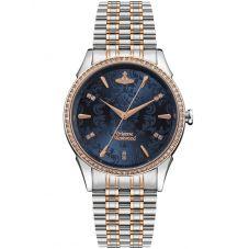 Vivienne Westwood Ladies Wallace Two-Colour Bracelet Watch VV208BLSR