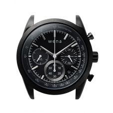 Wena Wrist Solar Chronograph Black Watch Head WNWHCS01BB.AE