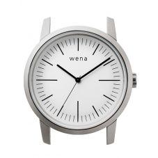 Wena Wrist Quartz Three Hands White Watch Head WNWHWT01BW.AE