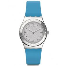 Swatch Brisebleue Blue Rubber Strap Watch YLS203